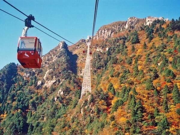 【周辺観光】湯の山観光の目玉「御在所ロープウエイ」の乗り場はすぐ目の前!