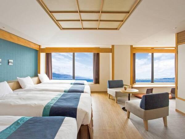 【ジャパニーズモダン客室/例】和と洋を融合させた新客室