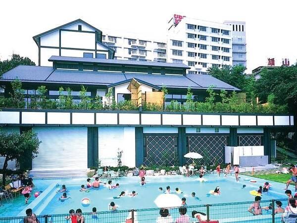 【夏季限定プール】宿泊者は利用無料!(2021年:7/17~8/31にてオープン予定)