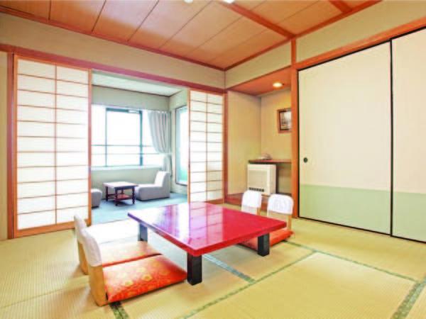 琵琶湖を望む、10畳の落ち着いた雰囲気の和室/例