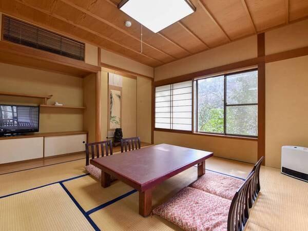 【*和室(バス付)】昭和の雰囲気を残す、ほっとするお部屋。