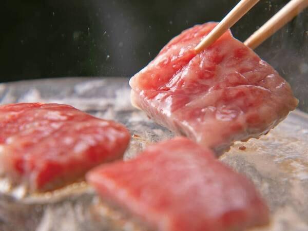 【特選近江牛会席/一例】近江牛水晶プレート焼き