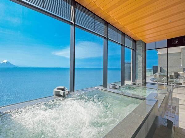 【龍宮城スパ・ホテル三日月 富士見亭】オススメの「純プラチナ風呂」と「K18の黄金風呂」贅沢な空間と時間をゆったりお過ごし下さい