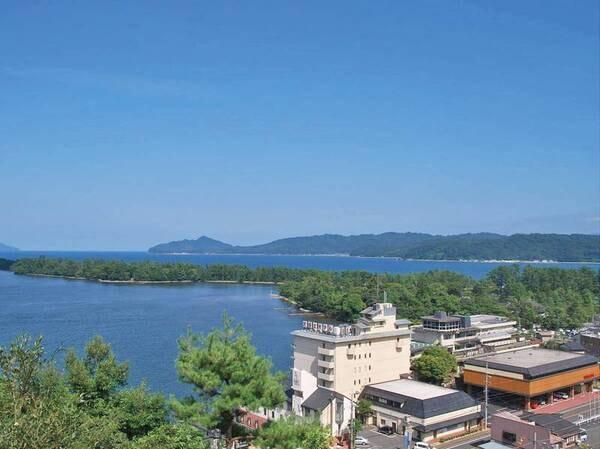 【宿周辺】ホテルから徒歩約5分で天橋立松並木へ