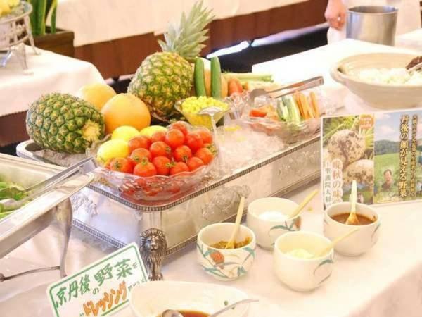 【朝食一例】和洋バイキングをお腹一杯お召し上がりください(朝食のメニュー内容は、食材・食数の状況により  予告なく御膳対応に変更となる場合がございます。)