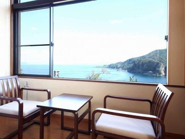 【海側確約】日本海と朝日一望できる和室/一例