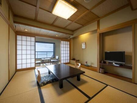【客室/例】紀淡海峡を望む和室。雄大な景色に癒される