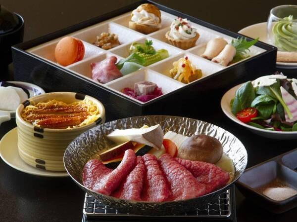 神戸牛御膳 神戸牛おひとり150gや名物の穴子飯など味わえる