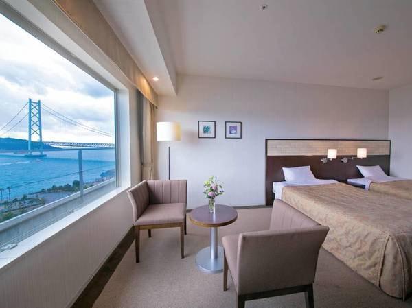 【スタンダード洋室/例】明石海峡大橋を望む