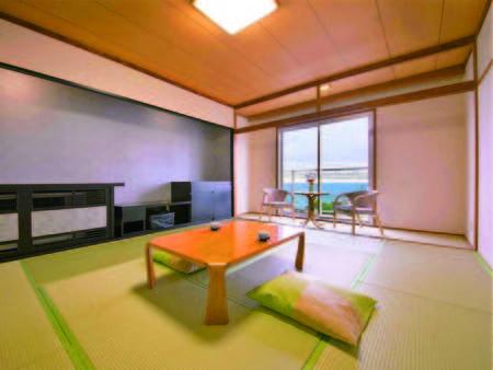 明石海峡大橋を眺める和室(一例)