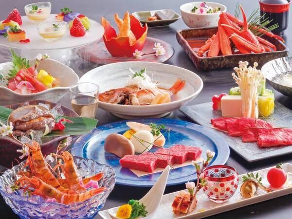 【日~金曜日限定!爛漫コース/例】 お料理写真は5/31までの一例
