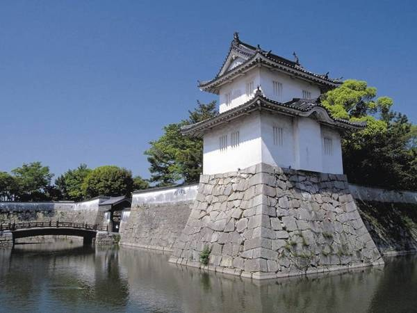 赤穂城跡(ホテルすぐ前)