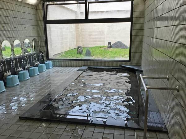 【男性大浴場】15時から24時迄利用可能