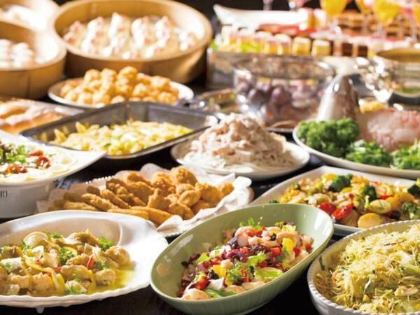 期間限定ブッフェ/例 淡路島の特産品「玉ねぎ」料理や旬の味にこだわったバラエティに富んだバイキング