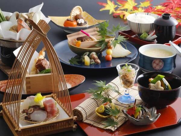 3種から選べる夕食【日本料理】2021年秋の日本料理/例