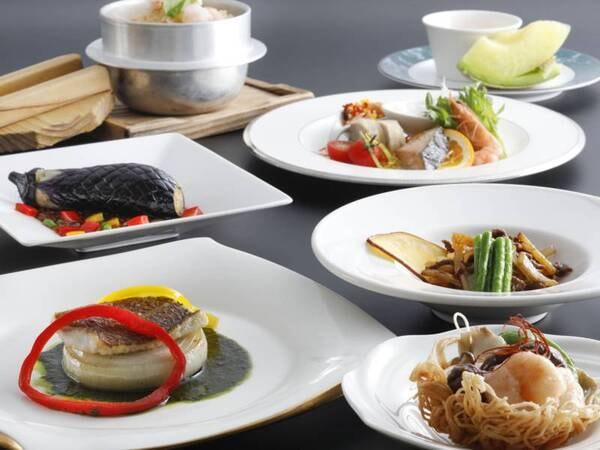 3種から選べる夕食【中国料理】/2021秋の料理例