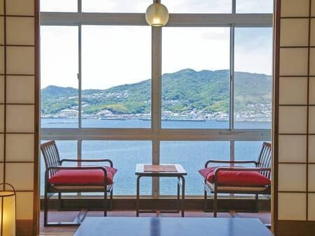 【客室/例】全室より福良湾を眺望※全室禁煙