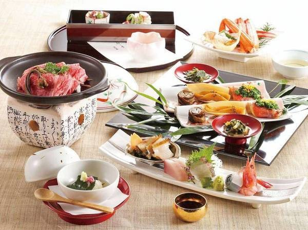 【招月庭スタンダード/例】季節の食材を使用