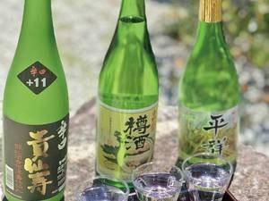 【おすすめオプション】地酒セットの例