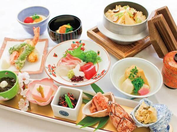【夕食】日本料理「島家」季節の会席/例