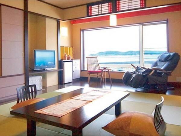 【客室/例】 紀淡海峡と友ヶ島が織り成す海景色