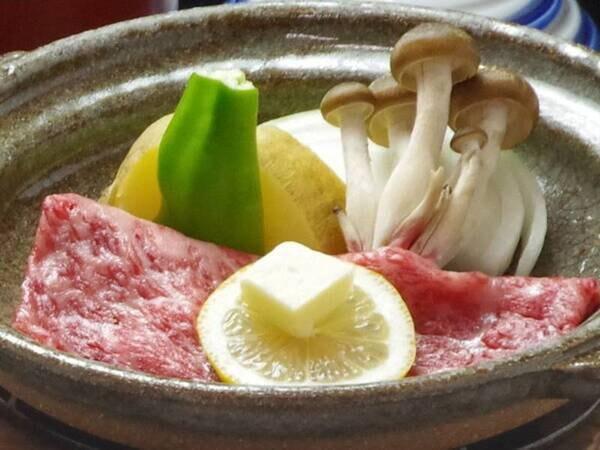 【熊野牛&海の幸会席/例】 海の幸会席に熊野牛を盛り込んだお肉も魚も楽しめるプラン