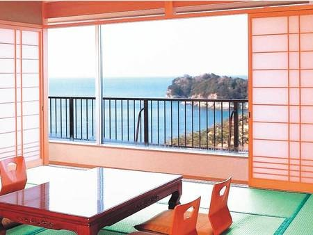 【和室/例】瀬戸内の海景色を一望!
