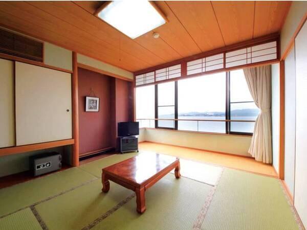 【客室/例】全室禁煙!寛ぎの和室をご用意※一部、木によって海を望めない客室あり
