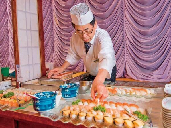 【握り寿司/例】新鮮なネタを握り寿司で