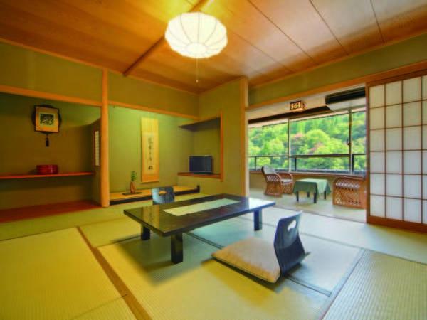 【客室/例】純和風の客室で温泉で身も心もをゆったり休まる