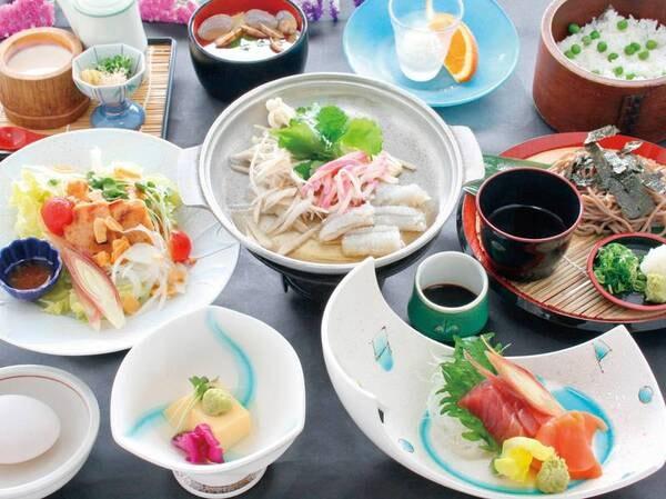 【ホテルウェルネス因幡路】山陰の味覚をお得に楽しめる宿。日本最大の池「湖山池」を望む大浴場が自慢