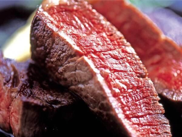 【料理グレードアップ会席/例】選べるメインの鳥取黒毛和牛ステーキ