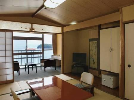 【全室海眺望!客室/例】海側7.5畳和室