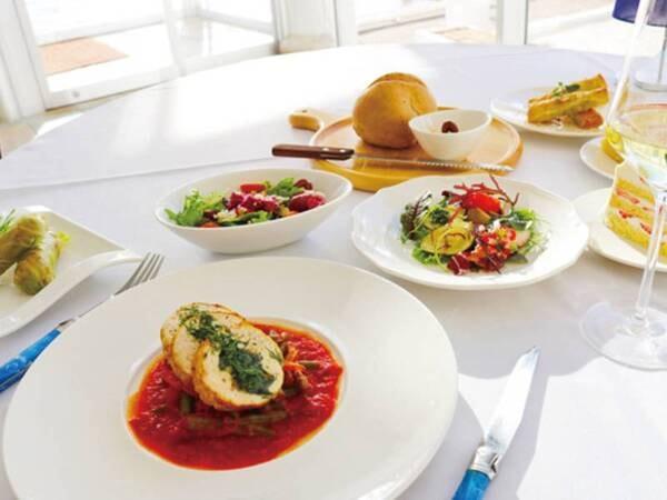 【本格地中海料理を味わうグルメプラン/例】