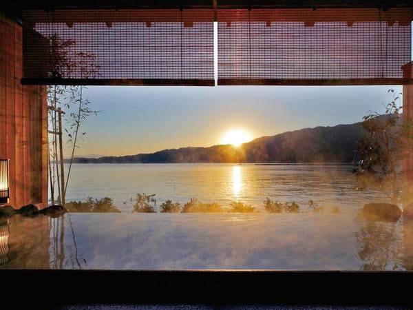 目の前に宮島を眺める貸切風呂※有料