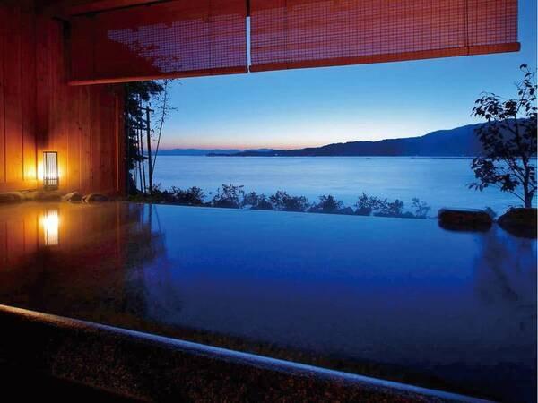 【貸切露天風呂】世界遺産「厳島神社」を眺めながら