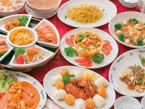 【中華コース/例】本格四川料理を堪能できる