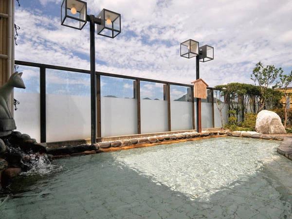 【ホテルニュータナカ】地上38mの屋上庭園露天風呂で湯田温泉を満喫! 旬の食材が並ぶ季節会席はクチコミでも好評♪