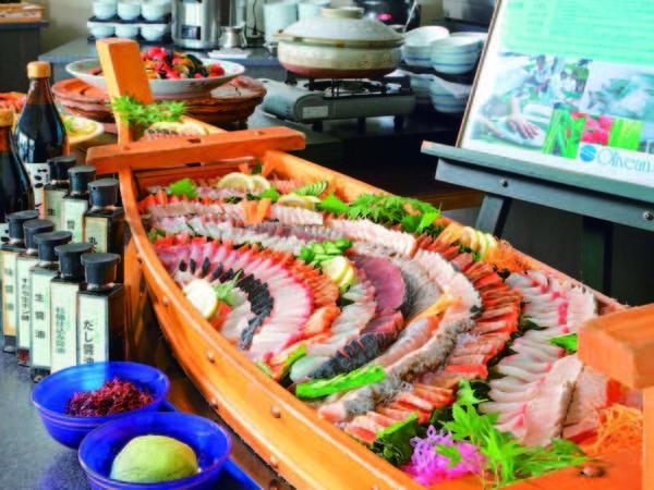 【瀬戸内バイキング/お寿司例】種類豊富な小豆島の醤油で味比べ