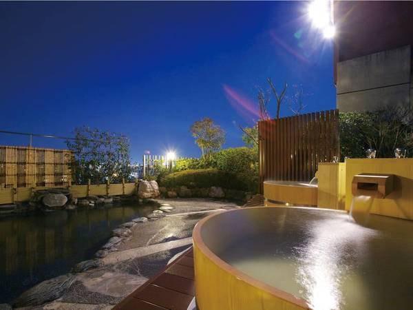【茶玻瑠】道後初の屋上露天風呂からは、晴れていれば石鎚山も望む絶景が一望!愛媛県民限定の特典付きプランも♪