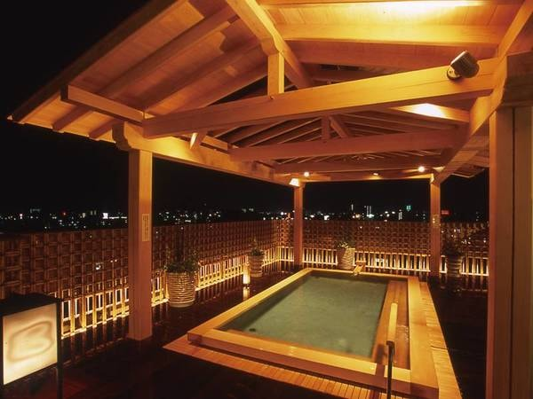 【いごっそうの湯】最上階からは高知市内を望む