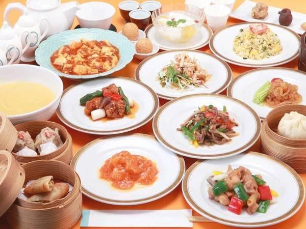 ふかひれ姿煮と中国料理オーダーハーフバイキング/一例