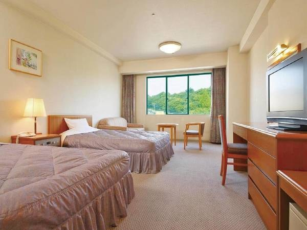 【洋室/例】ふかふかベッドで広々とした30平米