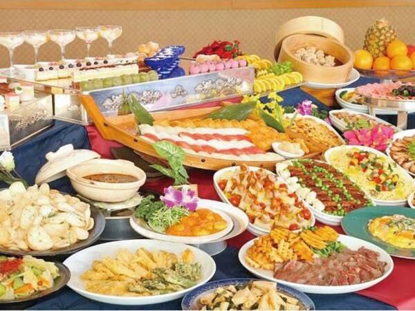 【和洋中バイキング/例】和・洋・中様々な人気料理を好きなだけ食べ放題!