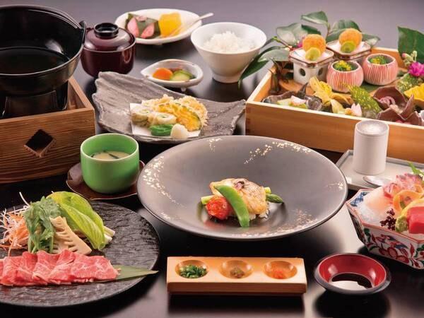 【※2月までの一例】鮮魚の造り&伊万里牛付き和み会席 季節に応じた旬の鮮魚の造りが楽しめる(時期により魚の種類は変わります)