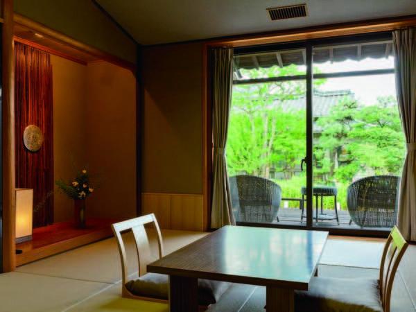 【客室/例】1階の庭側和室をご用意(バスなし)
