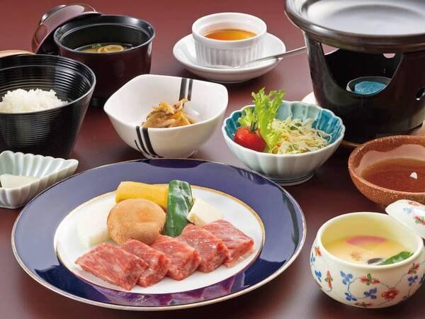 佐賀牛ステーキ付お手軽膳/お料理一例