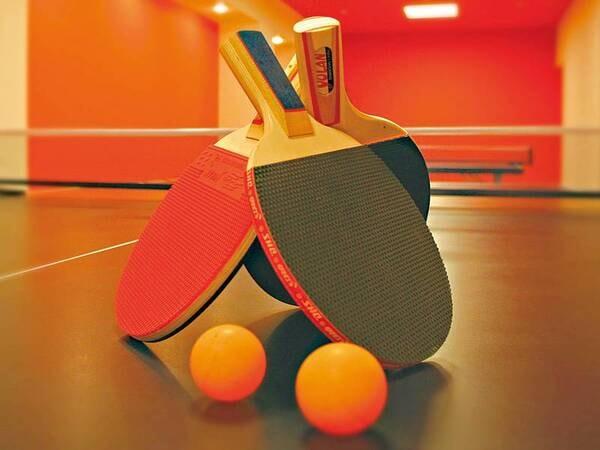 【無料の館内施設】卓球コーナー(画像はイメージのため実際とは異なる場合があります)※変更になる場合有