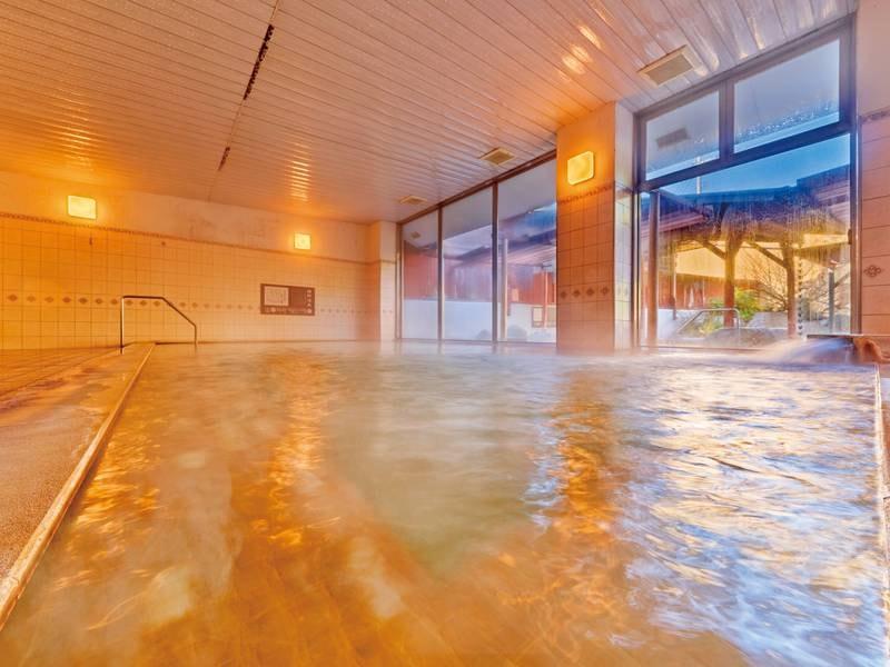 【女性大浴場】日本三大美肌の湯」と称される温泉を満喫