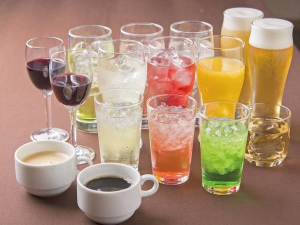 【飲み物/例】夕食はソフトドリンク飲み放題 ※アルコールは有料